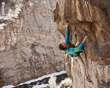 "Rock Climbing Photo: Matt Lloyd on the FA of ""Notorious""."