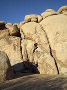 Rock Climbing Photo: Leading Karpkwitz