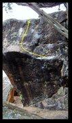 Rock Climbing Photo: Get Got problem beta.