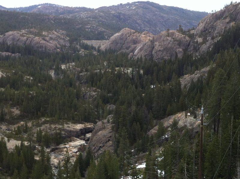 Bowman Lake Valley, CA.