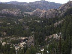 Rock Climbing Photo: Bowman Lake Valley, CA.