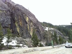Rock Climbing Photo: The Cove - right side. Bowman Lake Valley, CA.