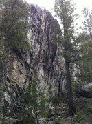 Rock Climbing Photo: B Word Wall, Bowman Valley, CA.