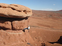 Rock Climbing Photo: Rapping off the 3rd
