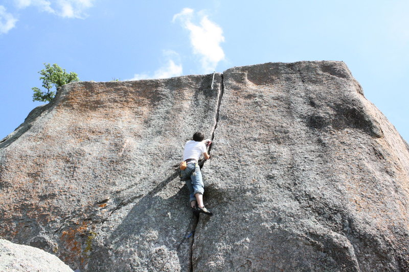 Rock Climbing Photo: Daniel on Pumper #9