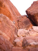 Rock Climbing Photo: Roy on A Hole in the Wall