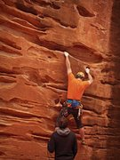 Rock Climbing Photo: Sandy buckets. (Nikon PL510)