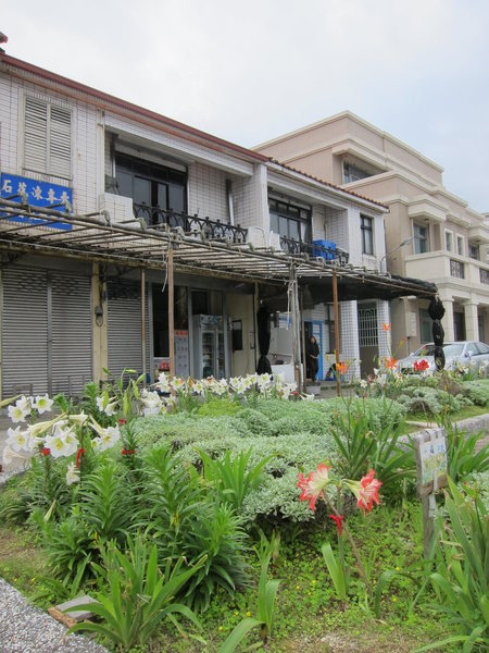 The shop at the school gate entrance. The next building is the guesthouse.