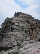 Rock Climbing Photo: B1 stairs (RIP)