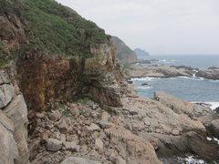 Rock Climbing Photo: Above the Basement