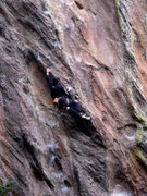 Rock Climbing Photo: Every time I climb this route I feel like I got la...