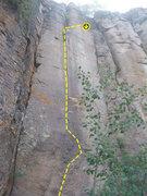 Rock Climbing Photo: Very thin and cruxy!