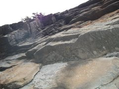 Rock Climbing Photo: A look at P2 from the P1 belay.