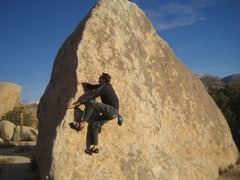 Rock Climbing Photo: Bouldering in J-Tree