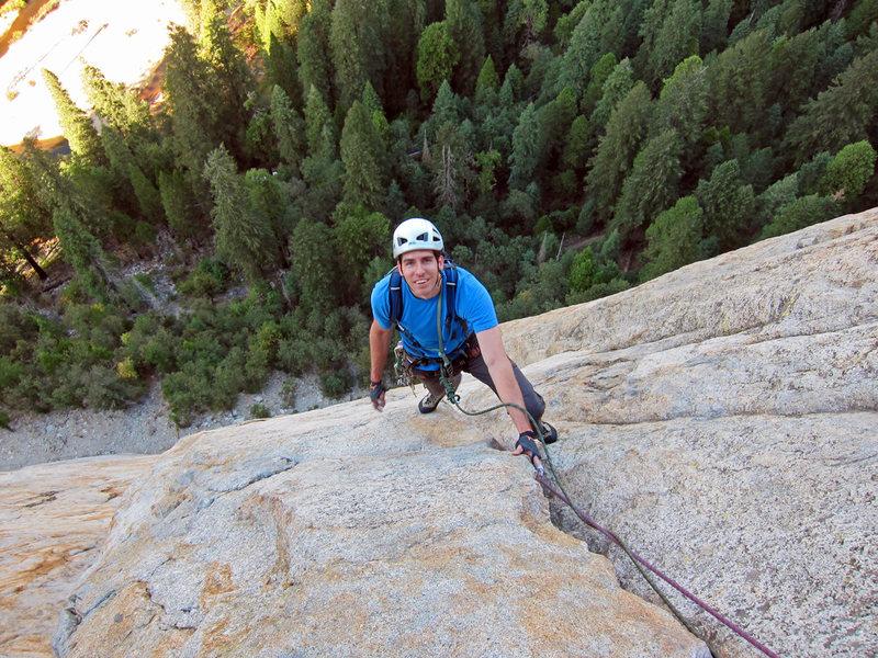 Rock Climbing Photo: Central Pillar of Frenzy