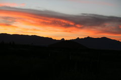 Cochise Stronghold at sunset....