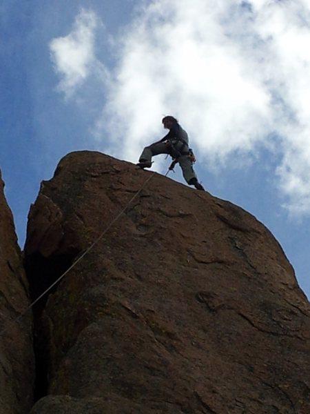 Rock Climbing Photo: Anchors away!!!