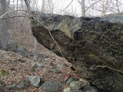 Rock Climbing Photo: choss arete