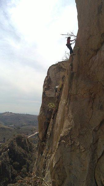 Rock Climbing Photo: el centinela