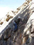 Rock Climbing Photo: Below the first bolt.