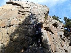 Rock Climbing Photo: At the bottom.