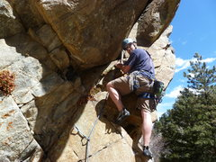 Rock Climbing Photo: Near the start.