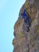 Rock Climbing Photo: Final moves through the headwall, pitch 6  (photo ...