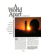 Rock Climbing Photo: A World Apart (page 1), Climbing Magazine 125 (Apr...