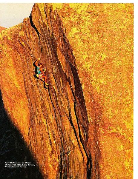 A World Apart (page 5), Climbing Magazine 125 (April/May 1991)