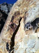 Rock Climbing Photo: Wild Bill creepin'