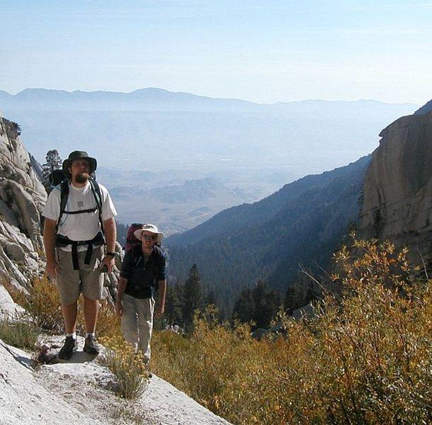 The Ebersbacher Ledges, North Fork Trail