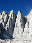 Rock Climbing Photo: Day and Keeler Needles, Mt. Whitney Area