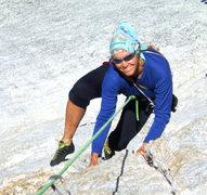 Rock Climbing Photo: Nice crack on pitch 2