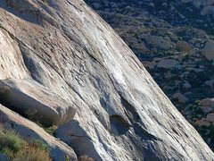 Rock Climbing Photo: Slab climbing is what it's all about here, Lake Pe...