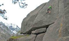 Rock Climbing Photo: Jon Gleason stylin' the 5.10 face. March 2013.