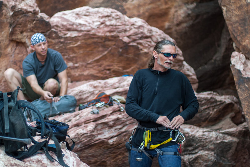 Rock Climbing Photo: Kentucky Pete was so glad for us to have met him t...