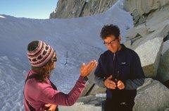 Rock Climbing Photo: beta, Paso Superior