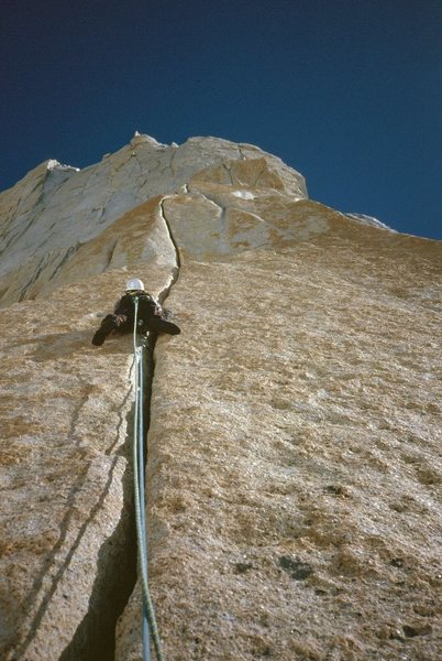 Rock Climbing Photo: Mermoz, Red Pillar