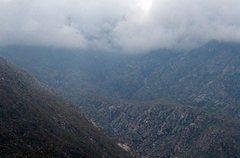 Rock Climbing Photo: Waterfall from Interstate 10, San Jacinto Mountain...