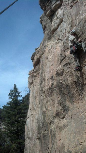 Rock Climbing Photo: Free Range Chicken, 5.11.