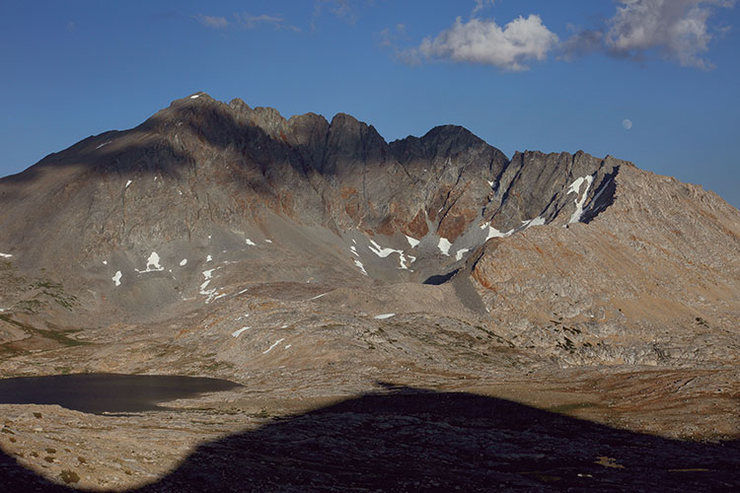 Rock Climbing Photo: Split Mountain, Sierra Nevada