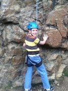 Rock Climbing Photo: Davids first out door climb