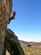Rock Climbing Photo: Jason starting up Backside Arete (5.11d), NJC