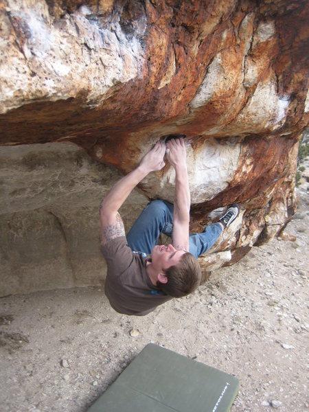 Jesus Boulder V6 Variation