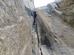 Rock Climbing Photo: Makayla on The Elevator Shaft