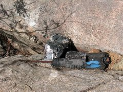 Rock Climbing Photo: Burned out Bosch, San Diego Area