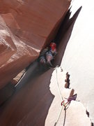 Rock Climbing Photo: Go to the light