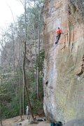 Rock Climbing Photo: defy