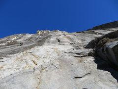 Rock Climbing Photo: Josh on Color Me Gone