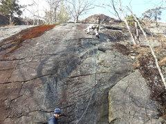 Rock Climbing Photo: fun little route. too short!